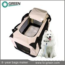 new big pet cat dog bag Portable Soft cage travel folding carrier