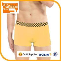 Newest high quality plain white cotton mens underwear boxer briefs