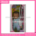 SLD-396 buena venta muñeca de bebé recién nacido con cochecito de plástico carruaje vinilo 20 pulgadas