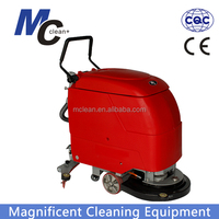 E510S single brush floor scrubber dryer with CE, big squeegee