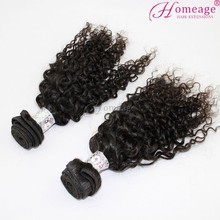 Homeage Brazilian kinky curl human hair 2014 christmas decorations