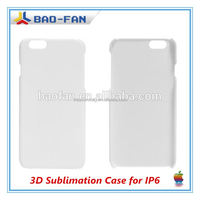Year-end promotion! 3D blank heat transfer cell phone case for iphone6 cover phone sublimation