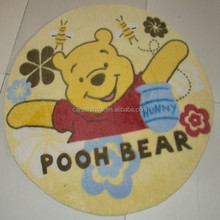 fashion design non-woven surface printed kids room rugs