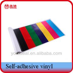 colored transparent film adhesive