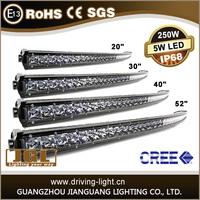 Hot selling 4d Cree offroad LED light bar, 100w 4x4 offroad driving light bar for UTV, 4WD, truck.