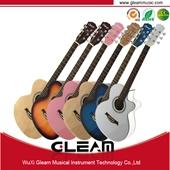 Popular talento de guitarras acústicas com amostra grátis e OEM disponível