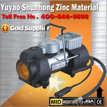 12 volt Metal inflatable mini car pumps (CE&ROHS)