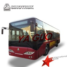 howo euro3 27 seats city bus for sale in Africa