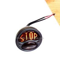 """Motorcylce Custom Vintage retor """"Stop"""" Tail light Brake Lamp For Harley, Chopper, Bobber"""