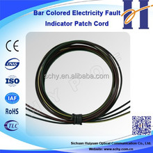 Bar Colored Electricity Fault Indicator Fiber Optic Patch Cord