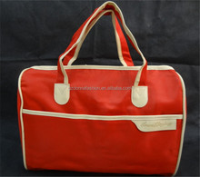 2015 Custom High Fashion DNBG12LTB002 Quality Red Medium Classic Cargo Duffel Travel Bags