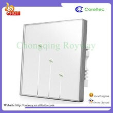 Hot Sale Glass Panel Touch Wireless Remote Control HM-110K02 Smart Home Switch