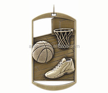 2015 rectangle medals on sale baseketball l medals/custom sport baseketball medals
