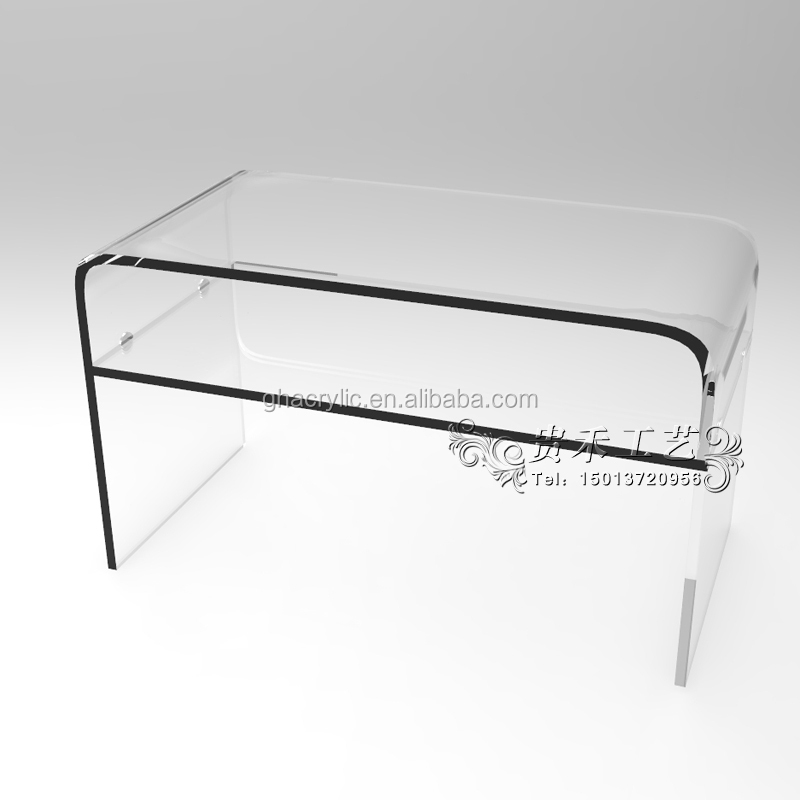Modern clear acrylic end table acrylic coffee table tea table buy clear plastic coffee tables Acrylic clear coffee table