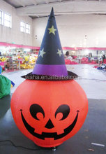 lighted inflatable pumpkin /Halloween decoration / inflatable halloween products