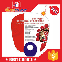 New design customized best sell plastic hand fans sticks
