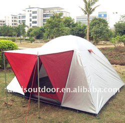 Outdoor camping tent 3 person foldable house