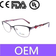 hotsell fashonable good quality free shipping optical display women best online eyeglasses glasses uk with mental decorate pin