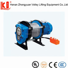Wire rope electric motor cable pulling equipment for sale