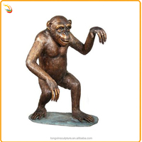 Antique Animal Decorative Bronze Monkey Statues From China Supplier