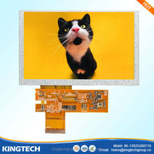 5 inch capacitive tft touch screen 800*480 high resolution