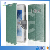Luxury 100% Leather Wallet Stand PU Case Cover For Huawei U8833 /Y300 Phone Cases Wholesale