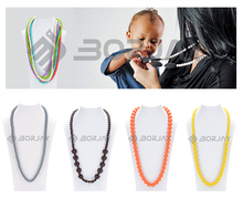 Safe And Soft best seller new style silicone decoration necklace
