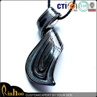 the individuation and fashion lampwork glass jewelry necklace wholesale