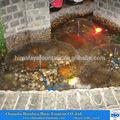 pequeña fuente de agua para el jardín privado