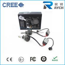 60W 7200LM CREES CAR LED HEADLIGHT CONVERSION KIT FOG LAMP BULB H1 H3 H4 H7 H11 880 881 9005 HIGH LOW
