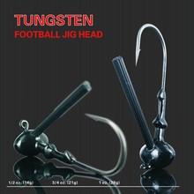 Tungsten Football Jig Head, Wholesale Tungsten Jig Head 3/8oz