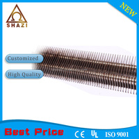 Finned tubular heater,straight shape,CE certificate,1 year quality guaranty