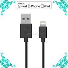 oem supplier usb portable charger usb cable for iphone 6 new products 2016 mfi cable