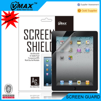 Factory price cell phone accessories Anti Glare screen potector for iPad 2 OEM/ODM