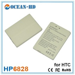 HP6828 HP6818 3.7v recharge phone battery pack for HTC