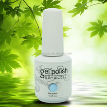 238 hot color gloss high quality gel uv polish for nail art use