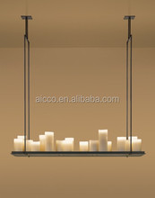 china supplier new product Kevin Reilly black metal and white glass altar led pendant lighting