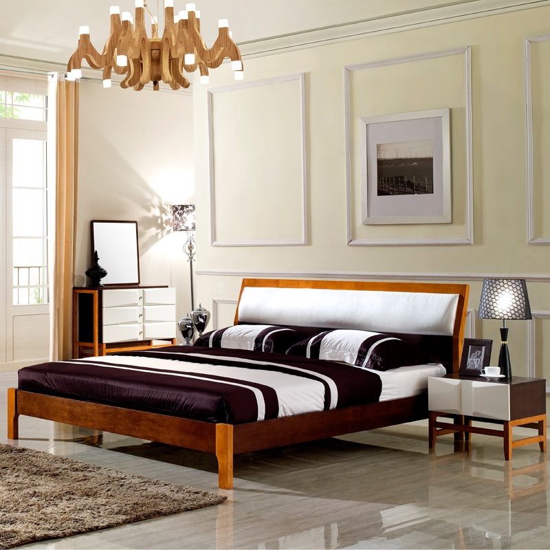 Modern Wooden Furniture BedsWood Double Bed Designs PriceCheap