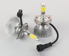 high power cob auto led car headlight 24w 2400lm daylight 6000K waterproof IP-68 bulb