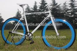 700c colorful steel fixed gear track bike hot sale