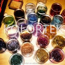 2015 new fashion glitter cosmetic pigment