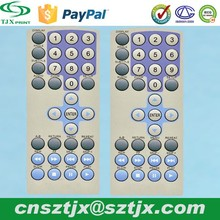 tv remote control keypad,Soft silicone buttons