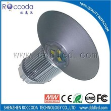 Warehouse led high bay light hot sale 150w,200w,300w,400w,500w mean well driver ip65 ce rohs ,led high bay for warehouse