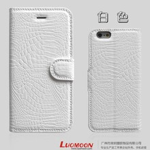 Newest Hot Crocodile Vein Phone 6 PU Case with Best Touching