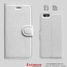 Newest Hot Rohs Crocodile Vein Phone 6 PU Case