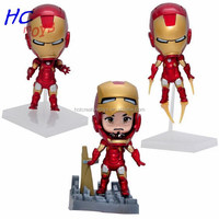 Hot Super Hero Iron Animation Model Present Clay Figurines