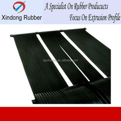 Flat panel solar collectors for swimming pool heating, RoHS