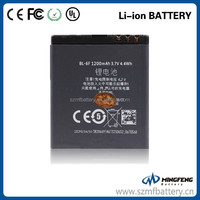 long time standing mobile phone battery BL-6F 1200mAh echargeable battery for nokia N78/N79/N95 8GB/6788i
