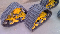 Rubber track system for SUV rubber track conversion system kits