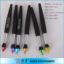 Promotional oil painting gift ball point pen